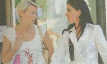 Νατάσα Καραμανλή: Βγήκε για shopping  με την φίλη της