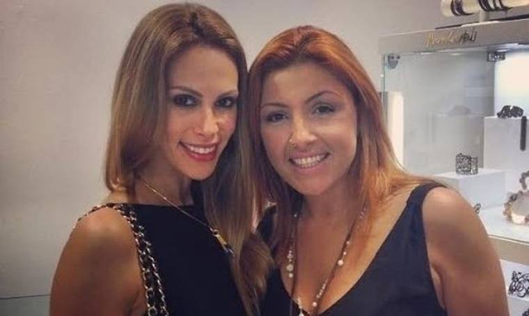 Και η Έλενα Παπαρίζου στη Μύκονο με τα μπρατσάκια της (Nassos blog)