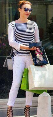 Τατιάνα Στεφανίδου: Για ψώνια στην Κηφισιά!