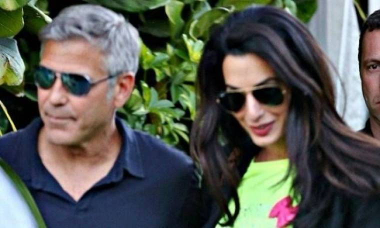 George Clooney: Ο γάμος θα γίνει σε κανάλι