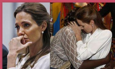 Τα δάκρυα της Angelina Jolie - Λύγισε η ηθοποιός