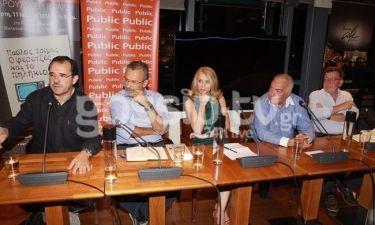 Παύλος Τσίμας: Στην παρουσίαση του βιβλίου του