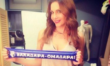 Μουντιάλ 2014: Η Δέσποινα Βανδή έστειλε τις ευχές της στην Εθνική ομάδα!