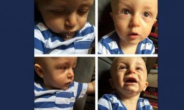 Ο εγγονός της Άννας Βίσση μεγάλωσε και ποζάρει!