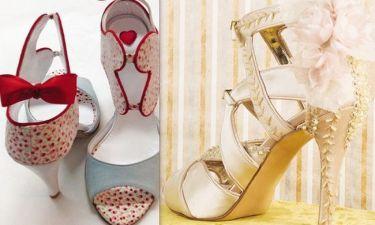 Ηθοποιός από τους «Βασιλιάδες» σχεδιάζει νυφικά παπούτσια!