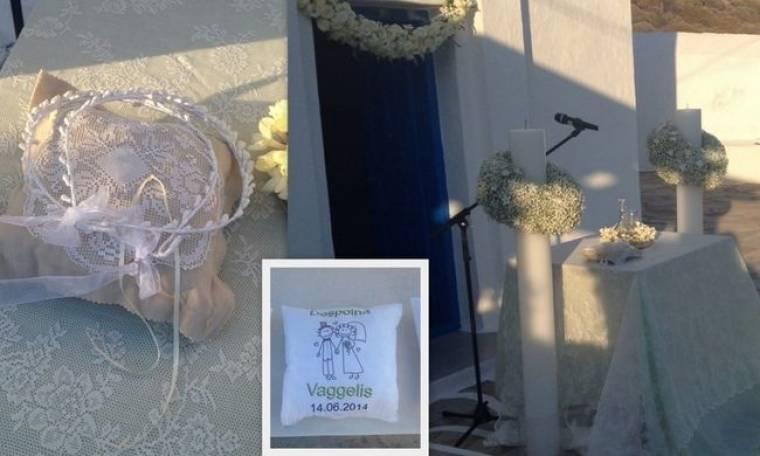Οι πρώτες εικόνες από τον γάμο της Δέσποινας Καμπούρη!