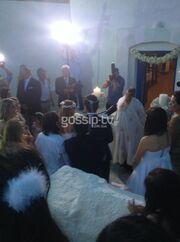 Γάμος Καμπούρη-Ταρασιάδη: Δείτε εικόνες από το μυστήριο