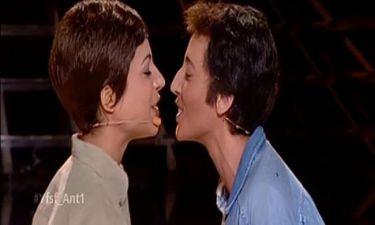 Ελευθερίου-Αδαμοπούλου: Στον τελικό ως Βουγιουκλάκη-Παπαμιχαήλ και το φιλί τους