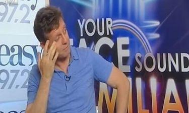 Δάκρυσε ο Γιάννης Σαββιδάκης on air! Τι τον συγκίνησε;