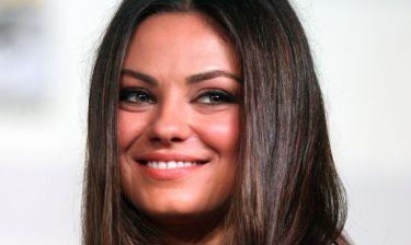 Mila Kunis: «Δεν θέλω το παιδί μου να γίνει κακομαθημένο»