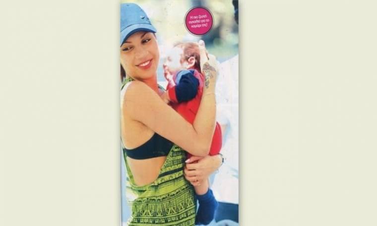 Μαριάντα Πιερίδη: Η τρυφερή αγκαλιά με τον γιο της
