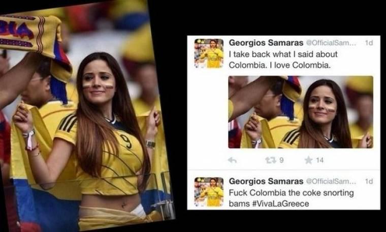 Γιώργος Σαμαράς: To σχόλιο για την σέξι Κολομβιανή που τρέλανε τη Φουρέιρα (Nassos blog)