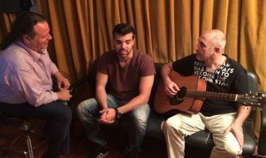 Ο Γιώργος Νταλάρας συναντά την Dulce Pontes και την Noa
