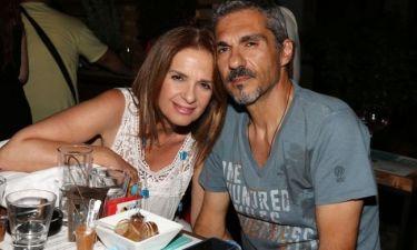 Πέγκυ Σταθακοπούλου: Βραδινή έξοδος με τον σύζυγό της