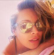Μαριέττα Χρουσαλά: Δείτε τη selfie φωτογραφία από την παραλία που «ανέβασε» στο instagram