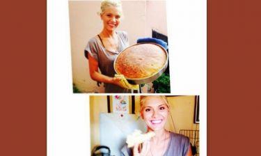Μα τι νοικοκυρά! Η Άρτεμις Αστεριάδη έφτιαξε ψωμί με τα χεράκια της!