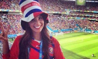 Παγκόσμιο Κύπελλο 2014: Κοσταρικανή ρεπόρτερ προκαλεί... εγκεφαλικά! (photos+video)