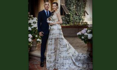 Ο Έρος Ραμαζότι παντρεύτηκε για δεύτερη φορά
