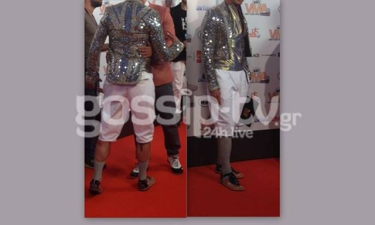 MAD VMA: Στο κόκκινο χαλί με εκκεντρική εμφάνιση ο…