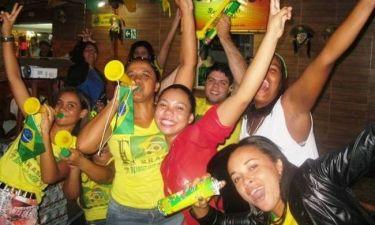 Παγκόσμιο Κύπελλο 2014: Ατελείωτο πάρτι στο Αρακαζού (photos+videos)