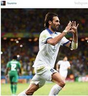 Η Φουρέιρα «τρελάθηκε» με το γκολ του Σαμαρά! Δείτε την  φωτογραφία που ανέβασε μετά τη νίκη της Εθνικής