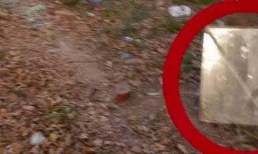 Βίντεο: Έκανε βόλτα σε πάρκο και είδε μια περίεργη μορφή από πίσω του!