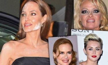 Δέκα εμφανίσεις σελέμπριτις με «καταστροφικά» makeup! (pics)