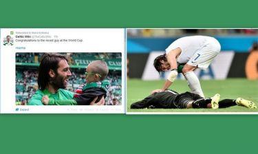 Μουντιάλ 2014: Το… καλύτερο παιδί του Παγκοσμίου Κυπέλλου ο Σαμαράς!