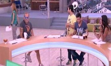Η αργοπορία του Κωστόπουλου στην προτελευταία εκπομπή για το «Πρωινό Mou»!