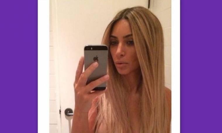 Μετά τον γάμο η Kim Kardashian έγινε πάλι ξανθιά!