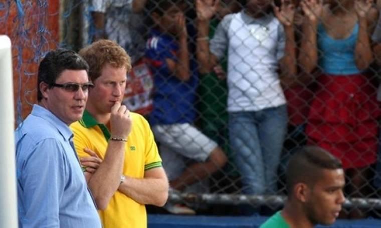 Τα δάκρυα του πρίγκιπα Χάρι!
