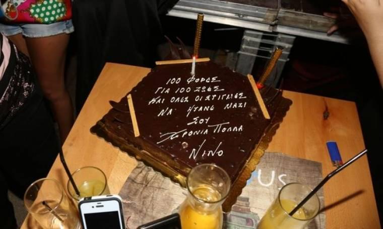 Παρουσίαση δίσκου, έναρξη συναυλιών και… γενέθλια για τον Νίνο