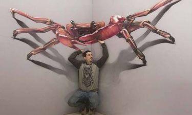 Απίστευτα 3D έργα τέχνης! (photos)