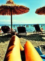 Βάσω Λασκαράκη: Στην παραλία με μαγιό, επτά μήνες μετά την γέννα! (φωτό)