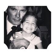 Το τρυφερό μήνυμα αγάπης της κόρης του Πέτρου Κωστόπουλου στον μπαμπά της για τη γιορτή του!
