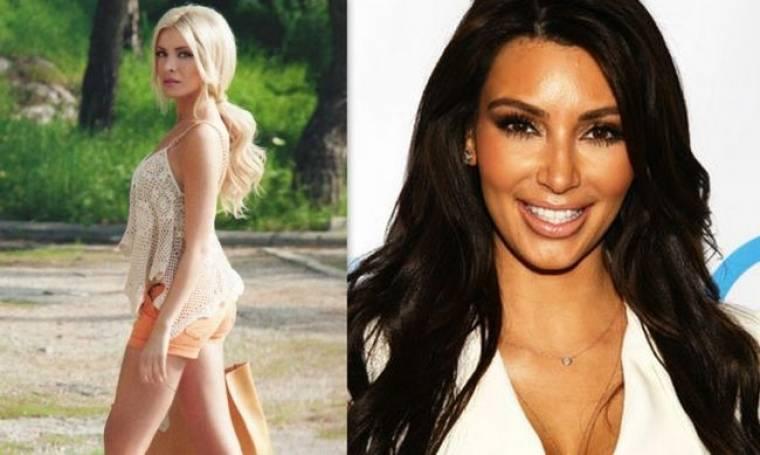 Δείτε την Κατερίνα Καινούργιου και την Kim Kardashian με το ίδιο μαγιό!