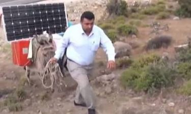 Απίστευτες εικόνες από την Τουρκία: Η πατέντα για να έχουν παντού ίντερνετ