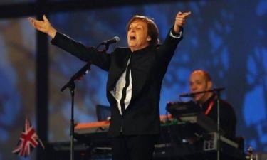 Έξαλλοι οι γείτονες με τον Paul McCartney!