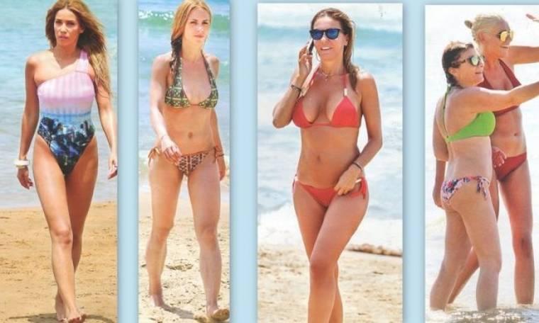 Beach girls!