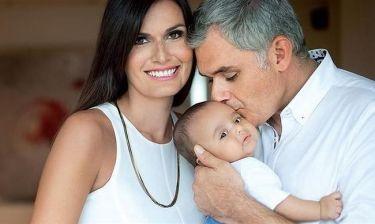 Κάλλι Τσιλίδου – Στέφανος Δανδόλος: Στην Πάρο η βάφτιση του γιου τους!