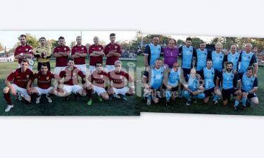 Ηθοποιοί και ποδοσφαιριστές σε έναν αγώνα για καλό σκοπό