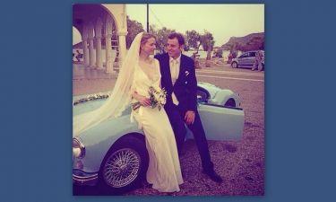 Η νύφη Γκρέτα Τσέτη πόσταρε φωτογραφίες από τον γάμο της!