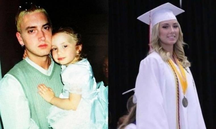Eminem: Η κόρη του πήρε το απολυτήριό της