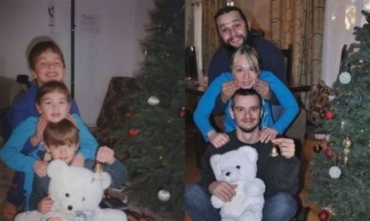 Τρία αδέρφια τότε και τώρα: Ένα υπέροχο φωτογραφικό πρότζεκτ αφιερωμένο στη μητέρα τους  ia