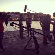 Backstage φωτογραφίες από τα γυρίσματα των νέων επεισοδίων του «Μπρούσκο»