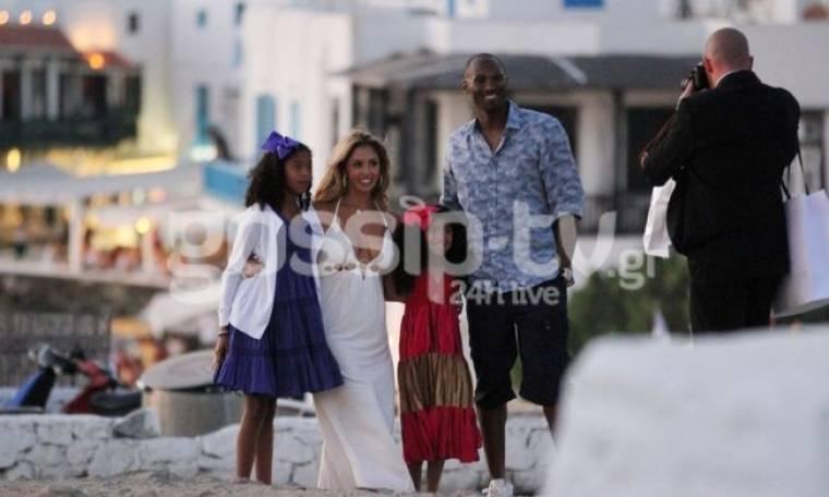 Δείτε τον Kobe Bryant στην Μύκονο με την οικογένειά του