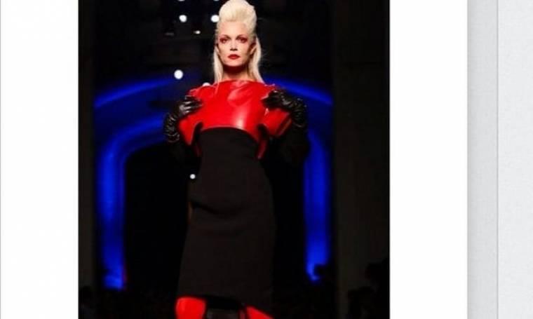 Βίκυ Καγιά: Στην επίδειξη μόδας του Jean Paul Gaultier