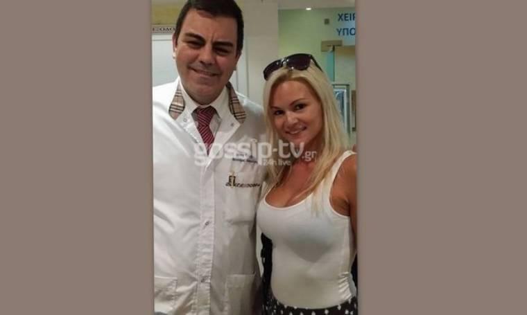 Αποκαλυπτική εικόνα: Είναι έγκυος η Βίκυ Κάβουρα; (Nassos blog)