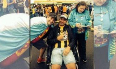 Μουντιάλ 2014: Σάλος με τον ποδοσφαιριστή που προσποιήθηκε τον ανάπηρο!