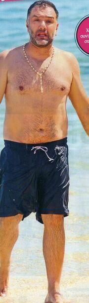 Τα πήρε ο Γρηγόρης στην παραλία